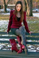 Boots, Stinky Pink Socks and Designer Tights (Part 2)