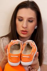 Sweaty Orange Boat Shoes